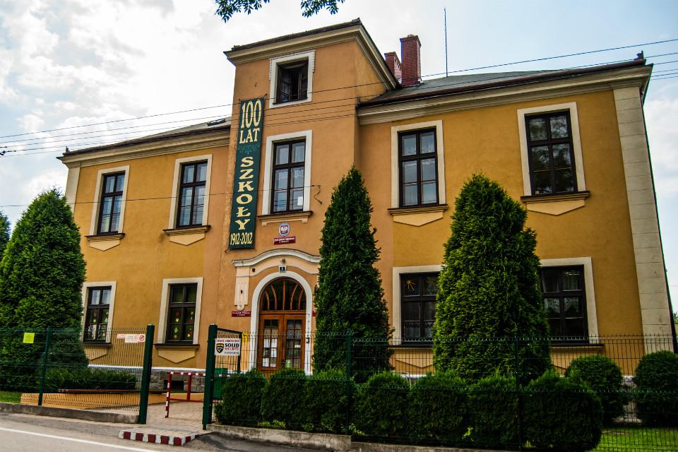 Budynek ZSP w Grodźcu