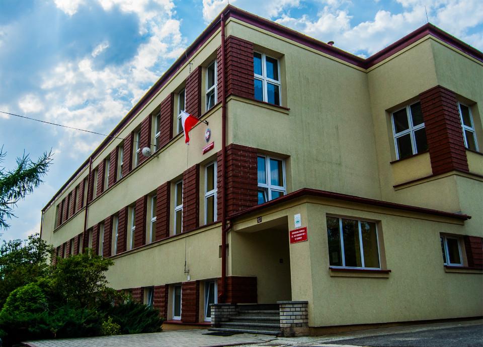 Budynek ZSP w Iłownicy